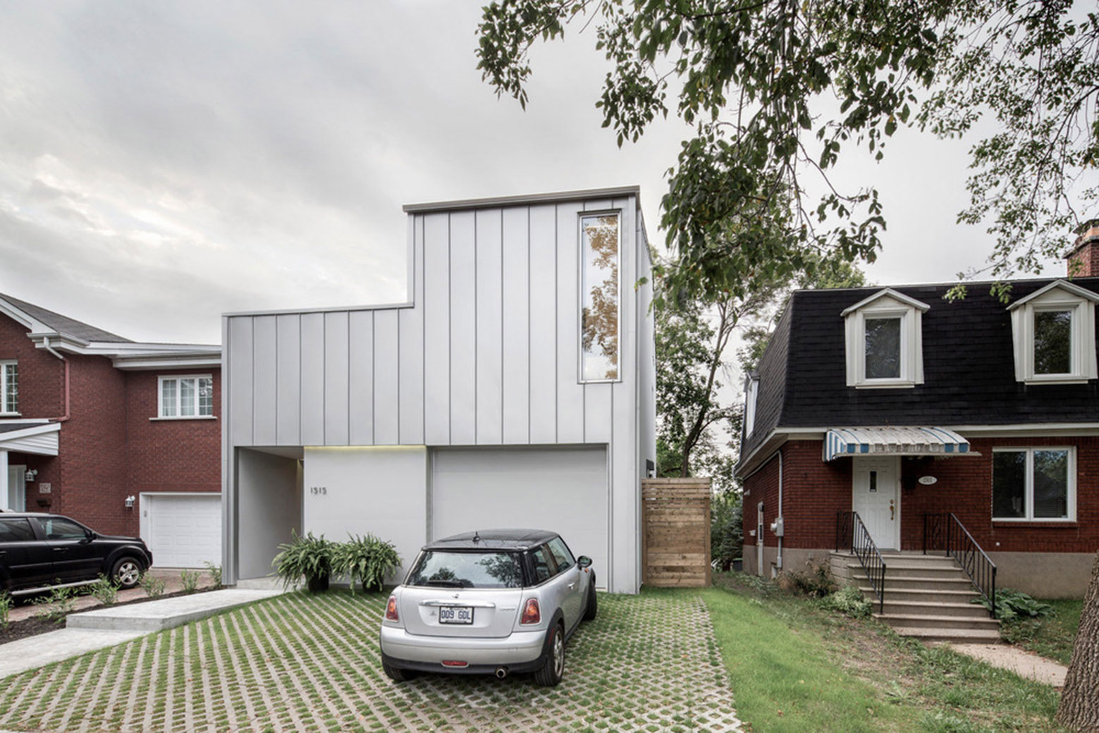Holy Cross House, Canada, Thomas Balaban Architect, TBA, Aluminum Clad Residence, Photography Adrien Williams