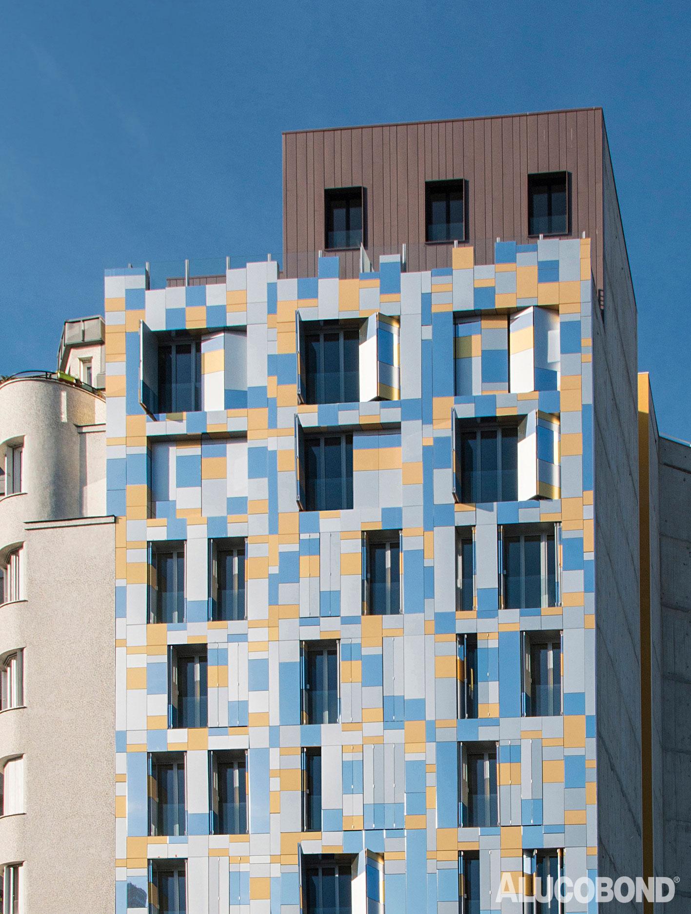 Responsive Facades, Alucobond, Quai de Charente, Margot Duclot Architectes Associes, Manuel Panaget