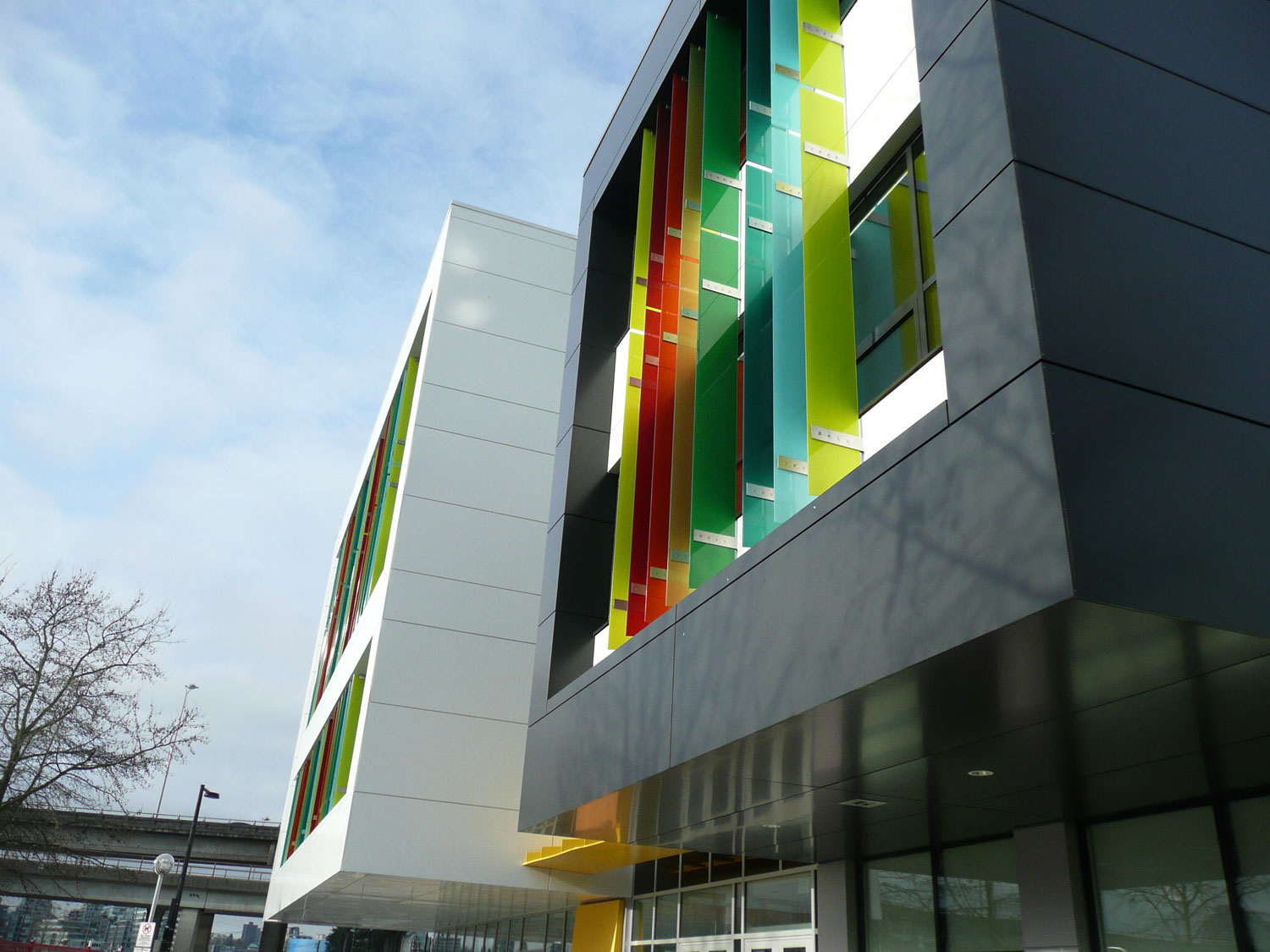 Crosstown Elementary School, Francl Architecture, Vancouver, Keith Panel Systems, Alucobond PLUS, LEED Gold, Photography Alissa Reed