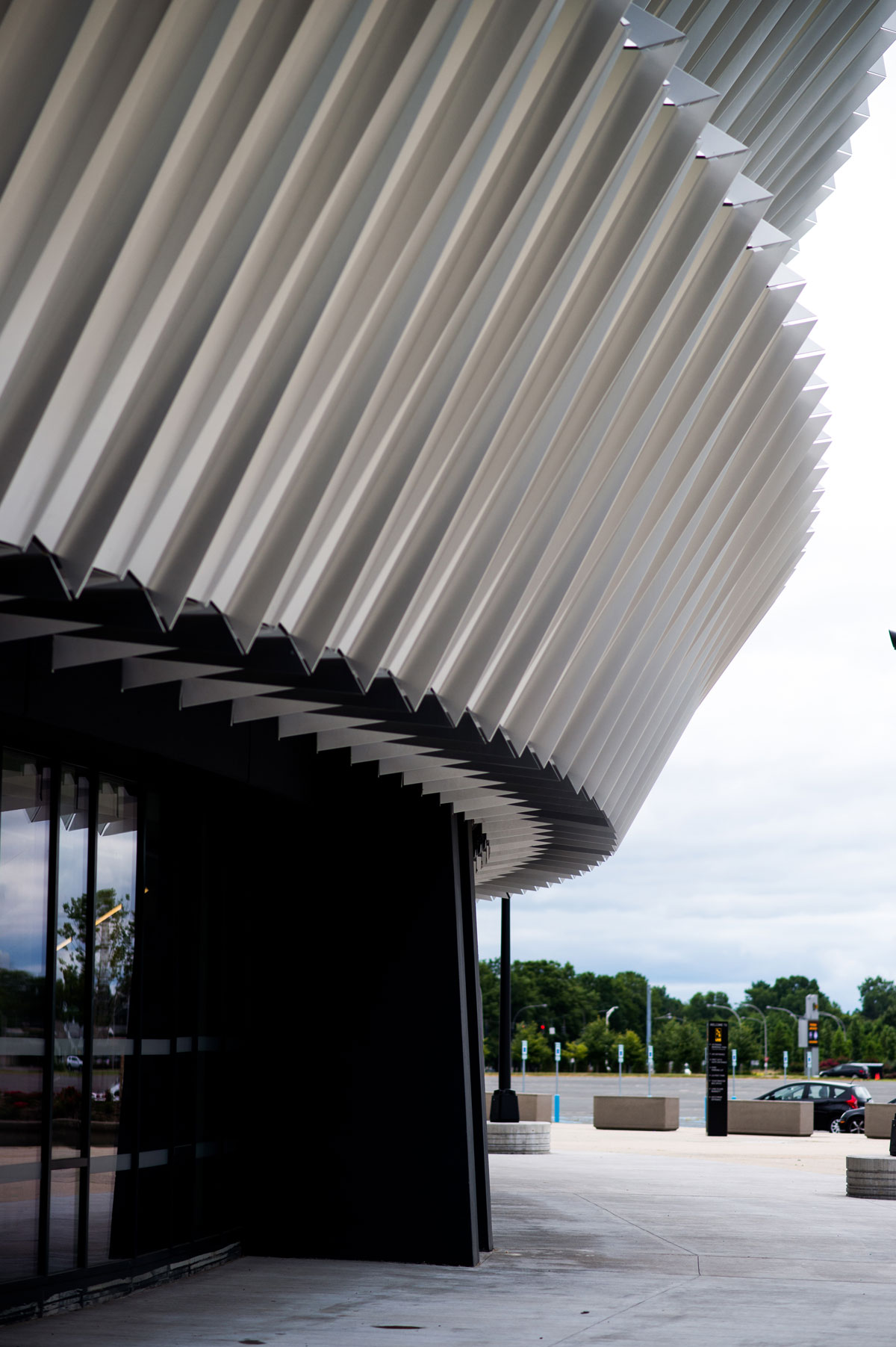 Nassau Veterans Memorial Coliseum, New York, SHoP Architects, Gensler, Alucobond PLUS NaturAL Brushed, Hunt Construction Group, Sobotec, Crown Corr, Photography Jamey Price