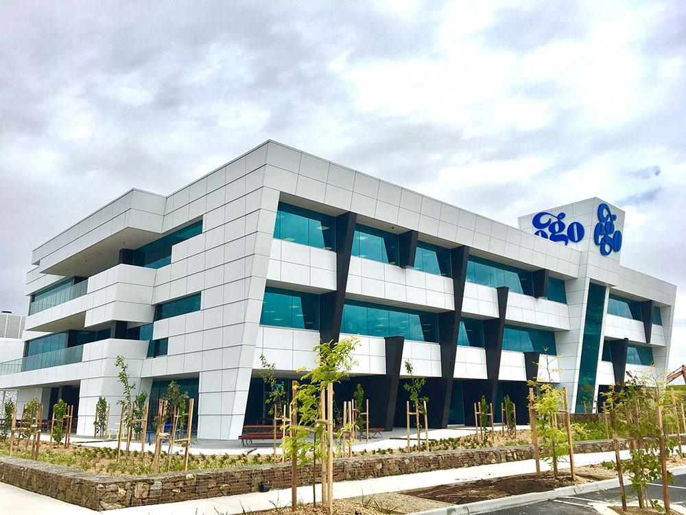 EGO Pharmaceuticals, Crosier Scott, Hacer Group, SBS Group, Alucobond PLUS