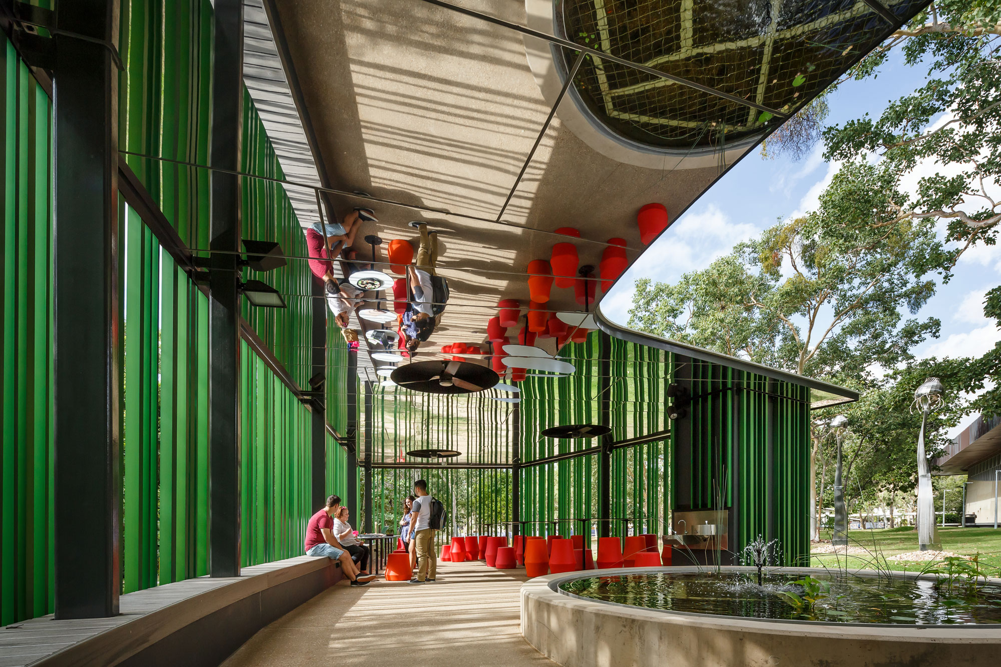 James Cook University, JCU Verandah Walk, Wilson Architects, Alucobond PLUS naturAL Reflect, Photography Andrew Rankin