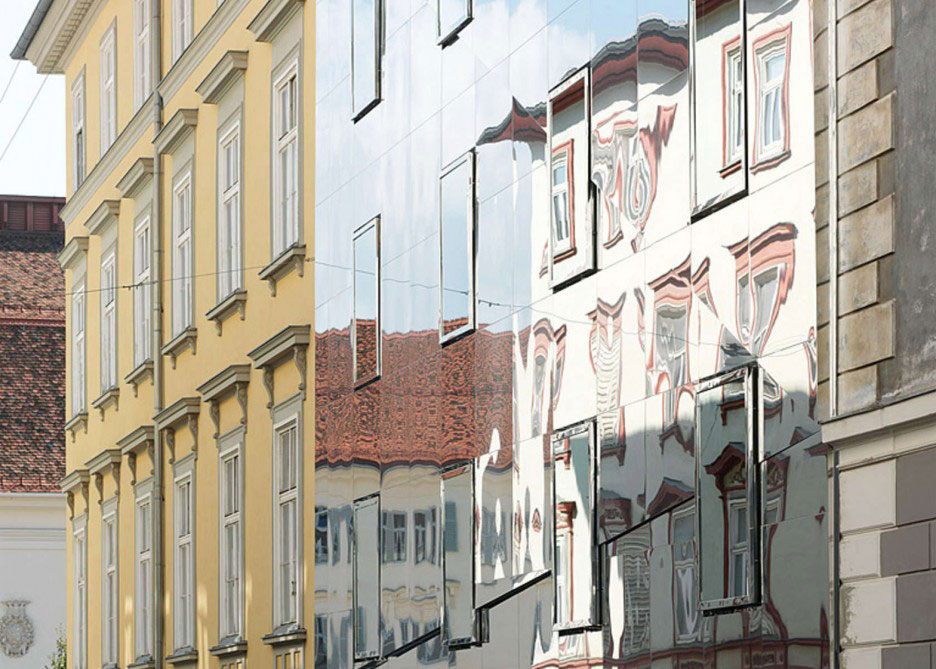 Stadthaus Ballhausgasse, Broken Mirror House, Hope of Glory, HoG Architektur, Graz, Photography Paul Ott