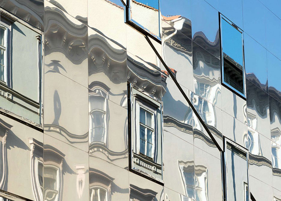 Stadthaus Ballhausgasse, Broken Mirror House, Hope of Glory, HoG Architektur, Graz, Photography Paul Ott