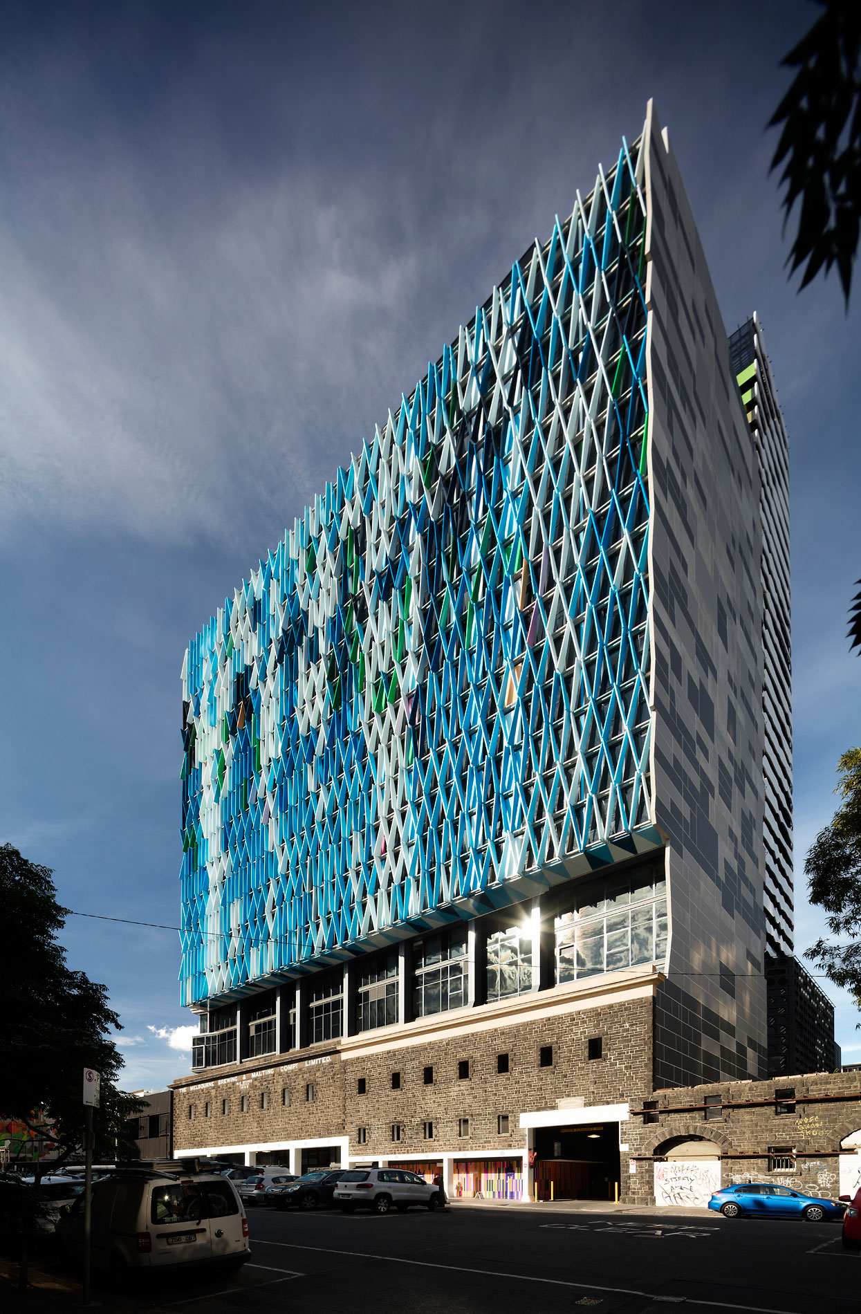 Bouverie Street Apartments, Melbourne, studio505, Grocon, Probuild, Alucobond PLUS