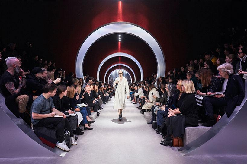 Bureau Betak, Dior FW16, Cour Carree, Du Louvre, Paris, Designboom