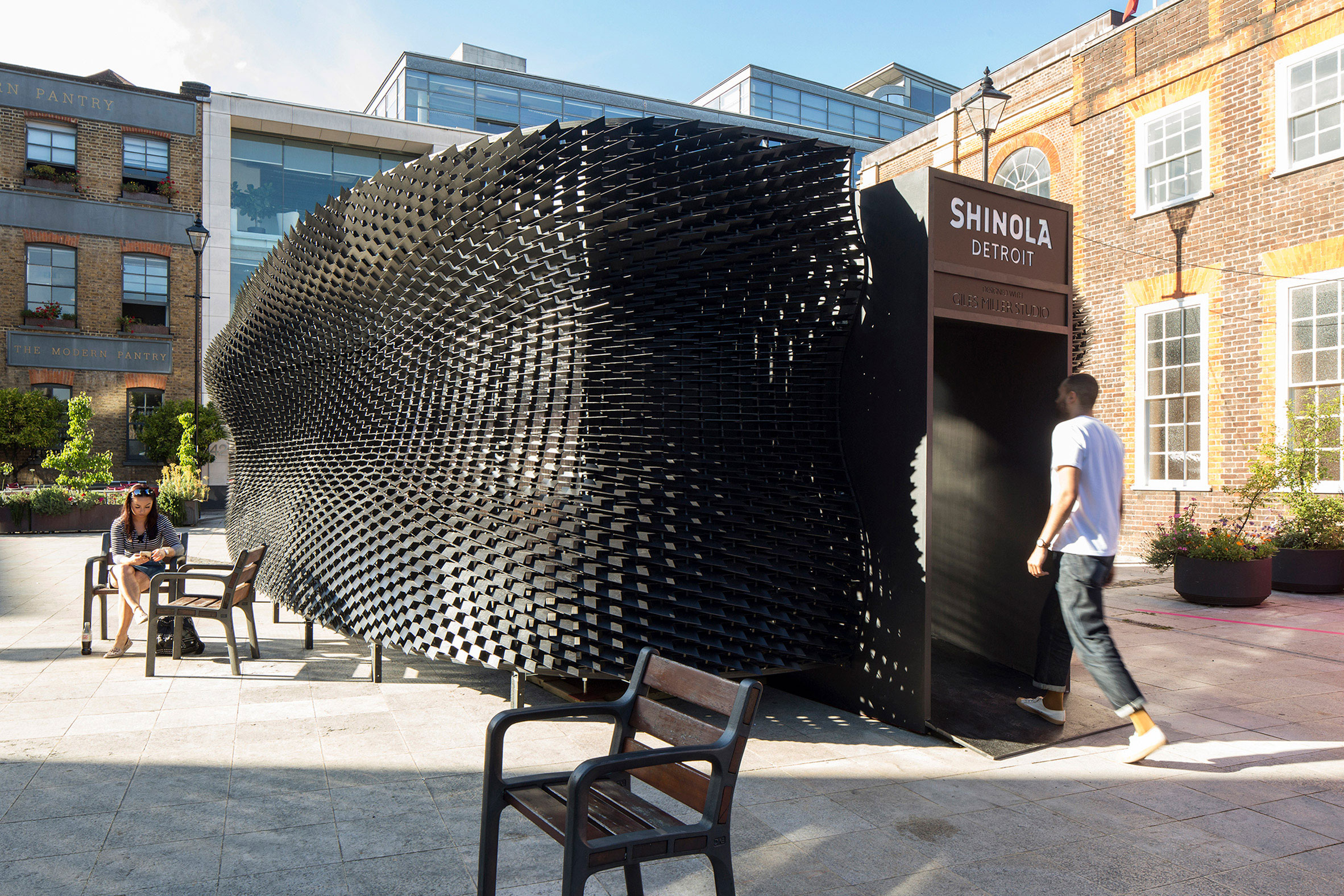 Giles Miller, Shinola, the Bolt, Clerkenwell Design Week, Dezeen, Richard Chivers