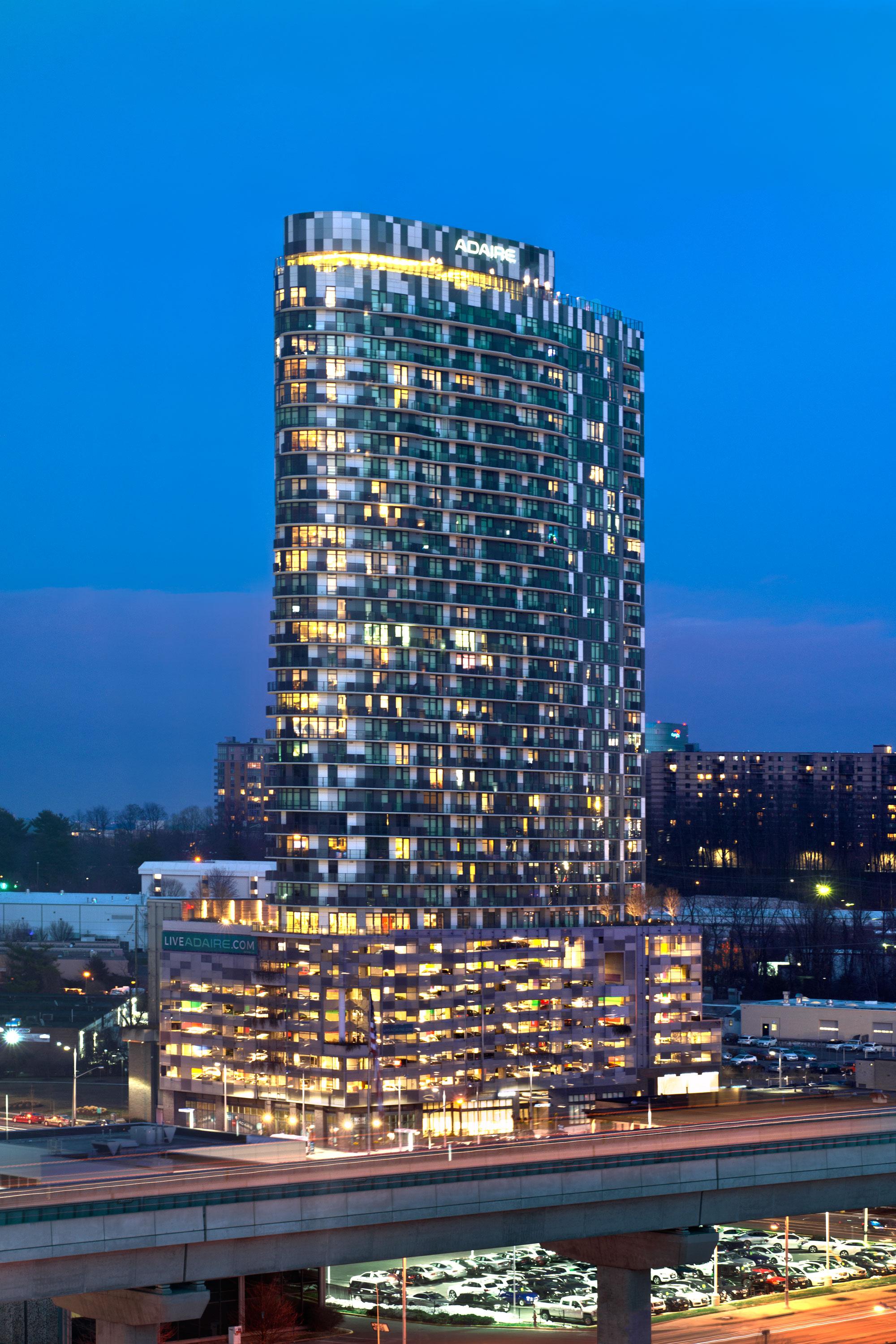 Adaire, Fairfax, Virginia, R2L Architects, LEED Gold, Custom Alucobond PLUS