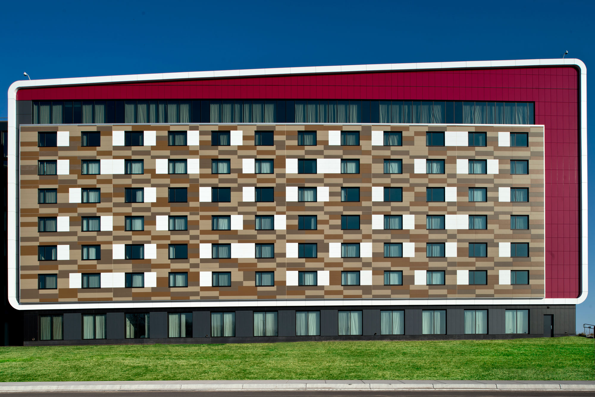 Treaure Island Resort Casino, Welch, Minnesota, RSP Architects, Custom Alucobond PLUS ACM, Photography Mark Kempf