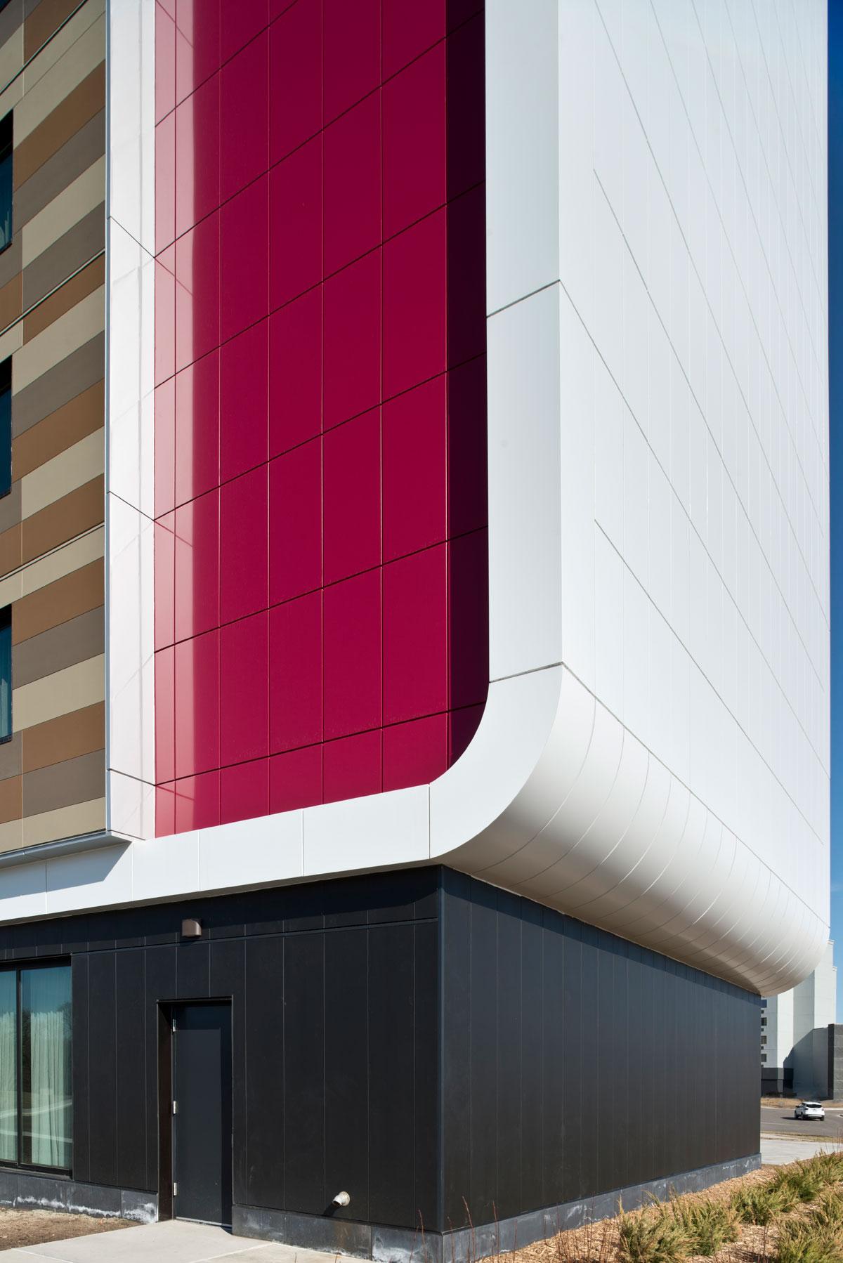 Treaure Island Resort Casino, Welch, Minnesota, RSP Architects, Custom Alucobond PLUS ACM, Photography Mark Kempf