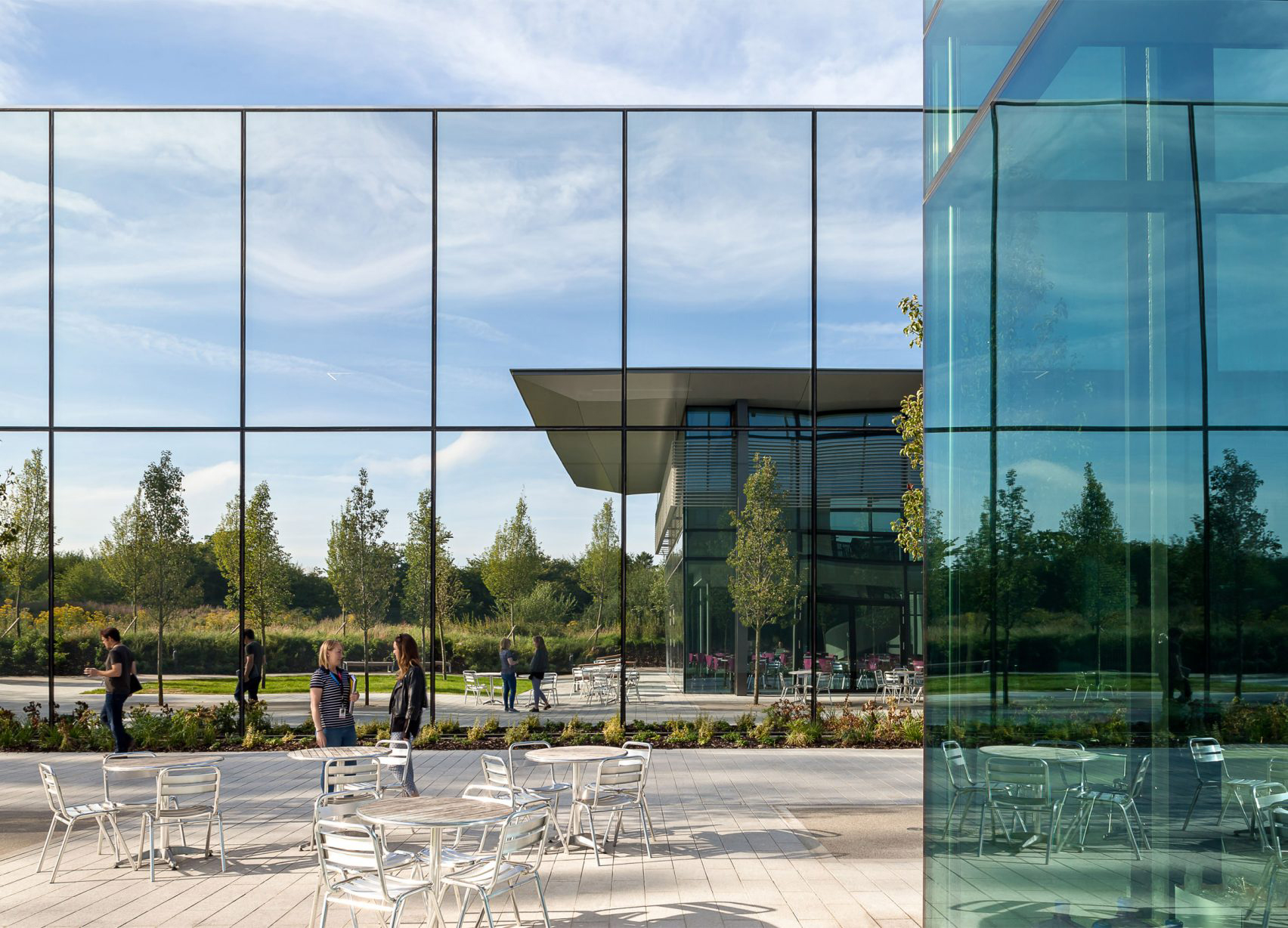 Dyson Headquarters, England, Wilkinson Eyre, Dyson Research Limited