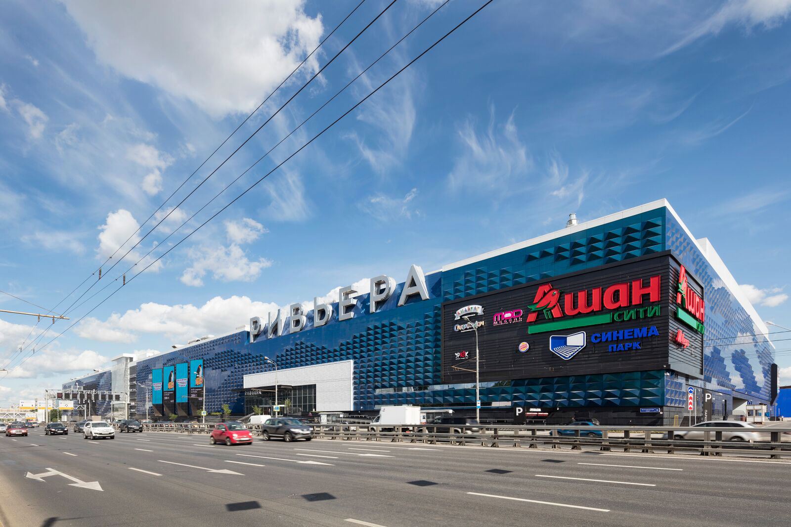 Riviera Shopping Mall, Moscow, Alucobond A2, Spectra Ocean, 5 Design, Dekoral, Photography Daniel Sumesgutner