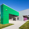 Manufacturing Site Renovated Into State-of-the-Art Educational Facility Reflects School's Identity With ALUCOBOND ACM Custom Colors