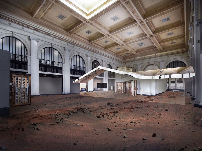 Doug Aitken, Mirage Detroit, 2018, Image by Doug Aitken Workshop