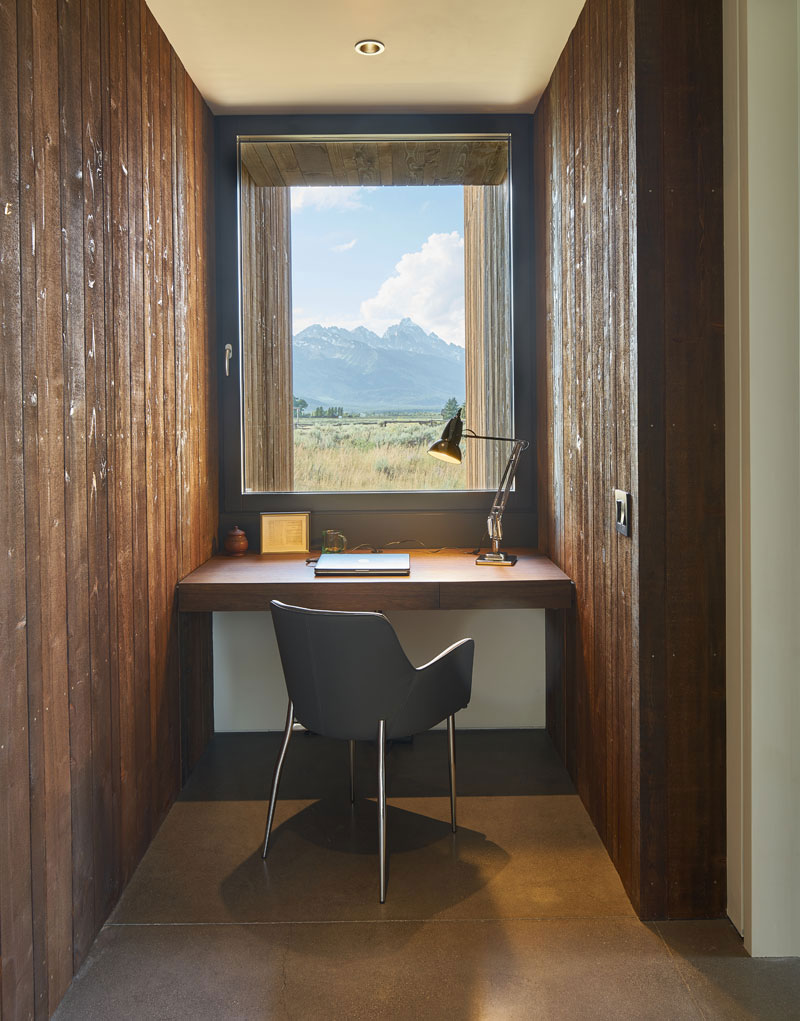 Jackson Hole, Wyoming, Wood Home, kt814 Architects, Contemporist, Photography David Agnello
