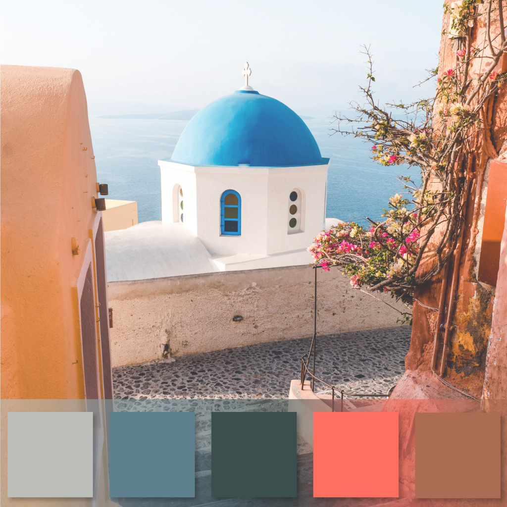 Buildings and Landscape of Greece