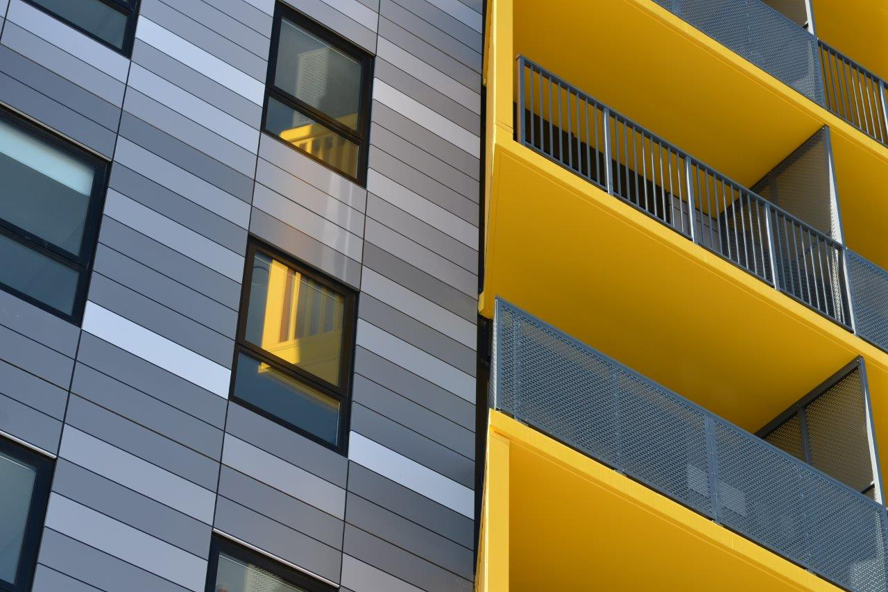 New Lynn Merchant Quarter Apartments, Jasmax, Alucobond Plus